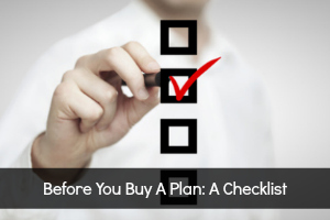 Are you ready to purchase a plan?