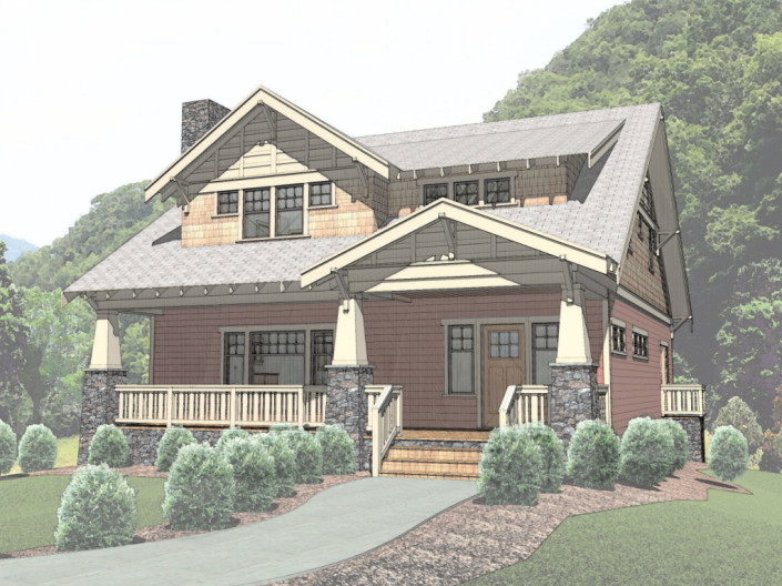 Blakely Exterior Rendered