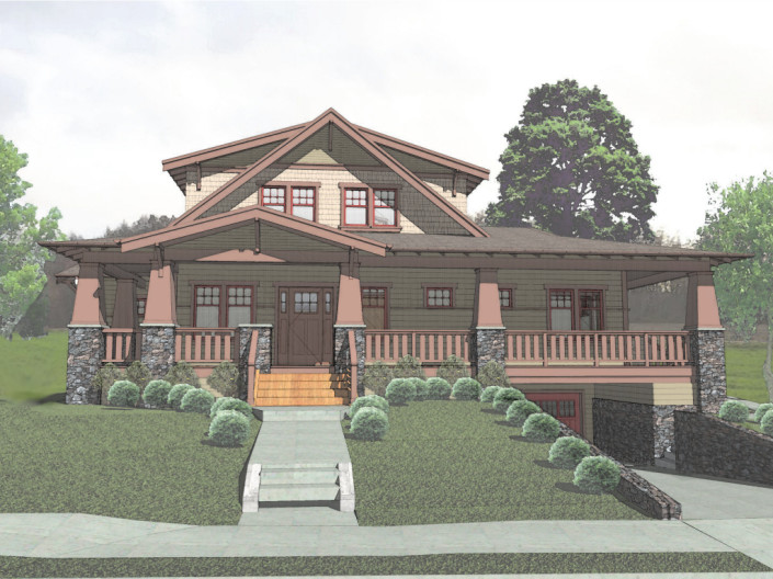 Siskiyou Exterior Rendered
