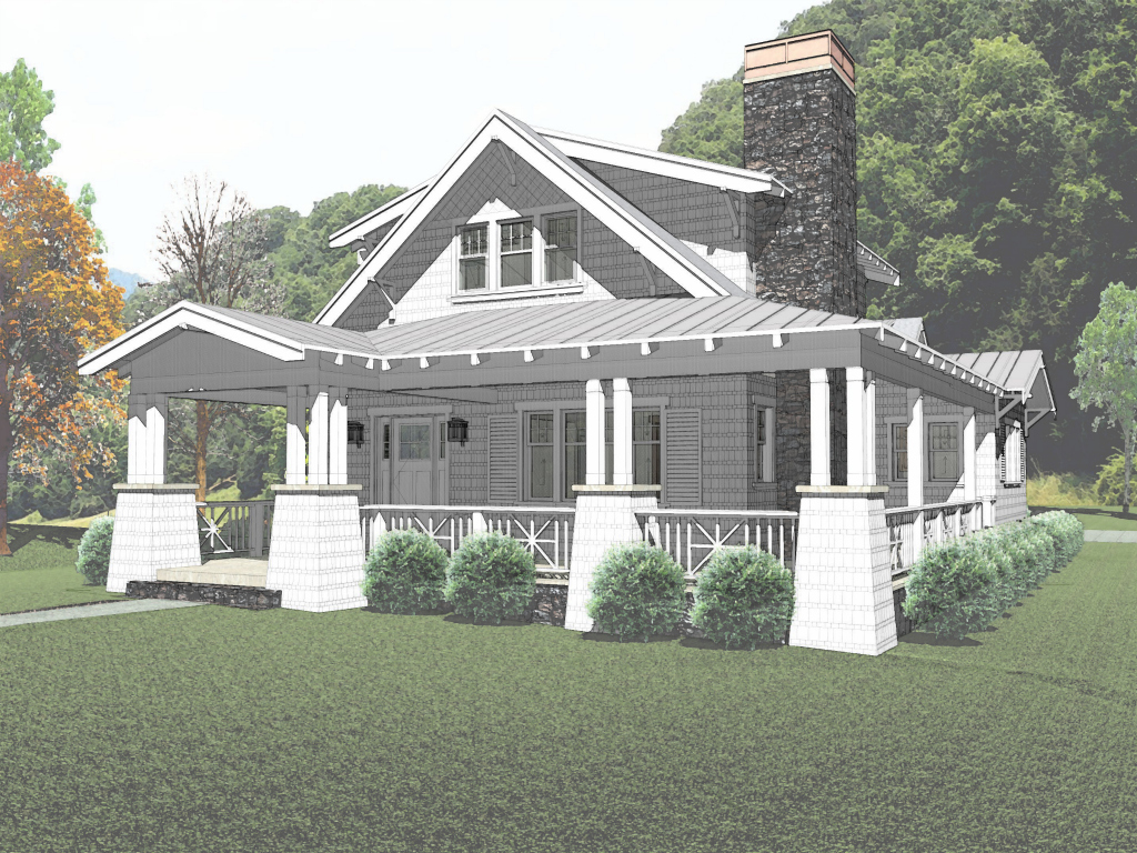 The stratton bungalow company for Bungalow house blueprints