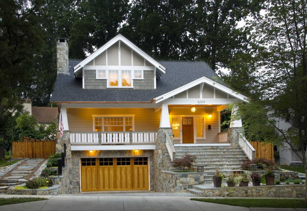 Craftsman style house plans anatomy and exterior for Cottage style house
