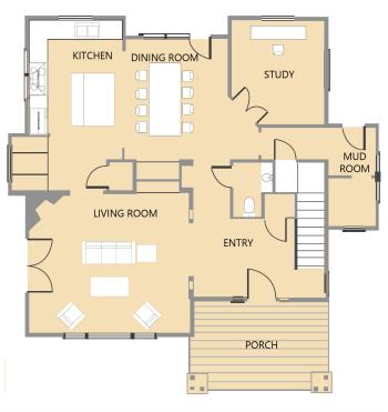 Tumalo First Floor