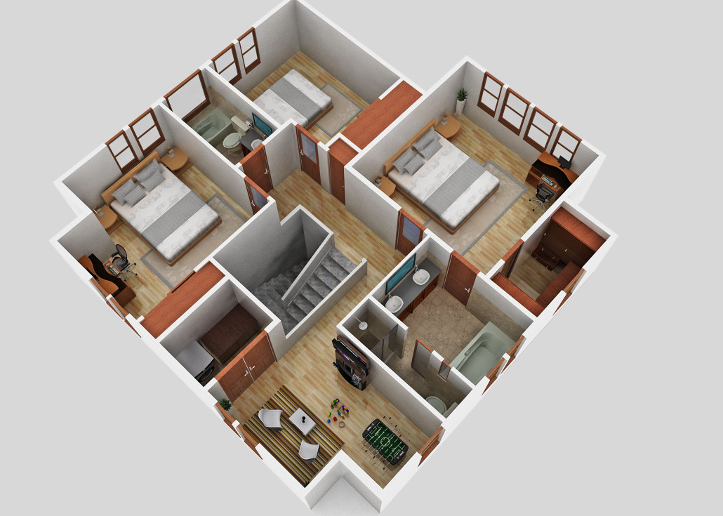 Winslow Second Floor - Floor Plan