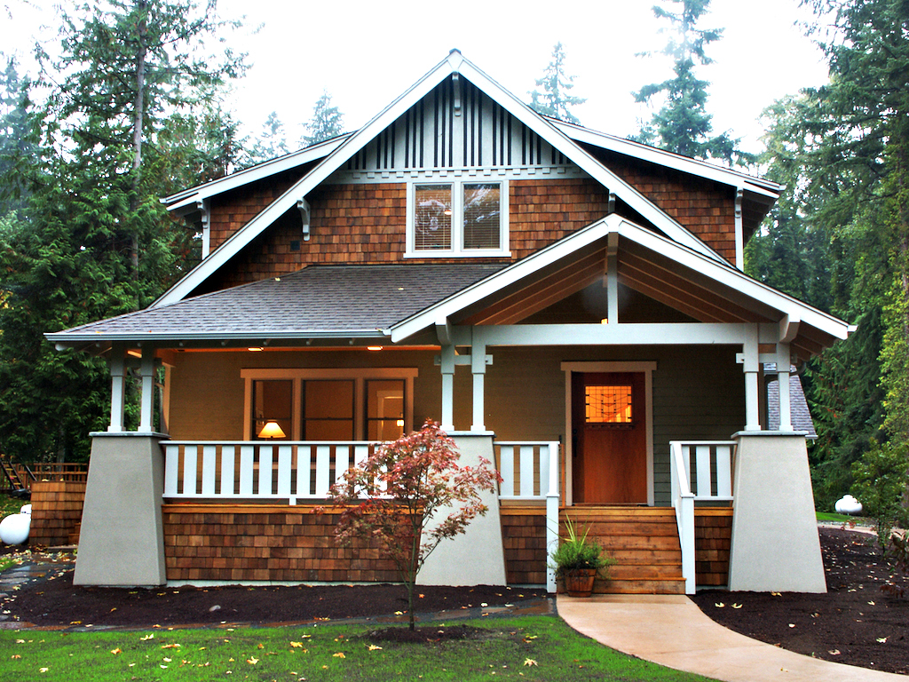 The manzanita bungalow company for Old bungalow house plans