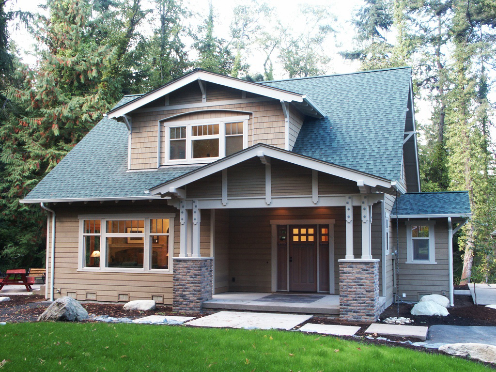 The tumalo bungalow company for Craftsman style bungalow home plans