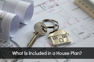What is include in a house plan?