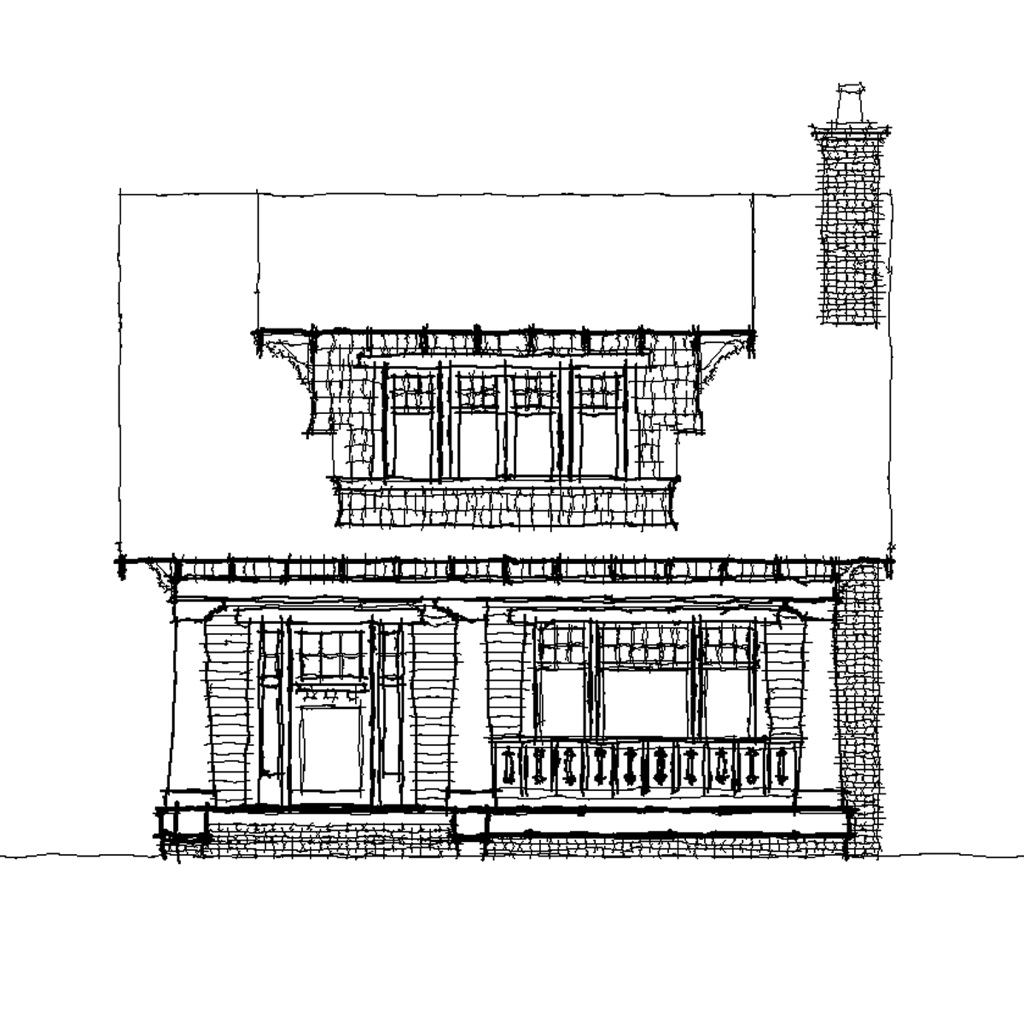 Fox Tail Front Elevation