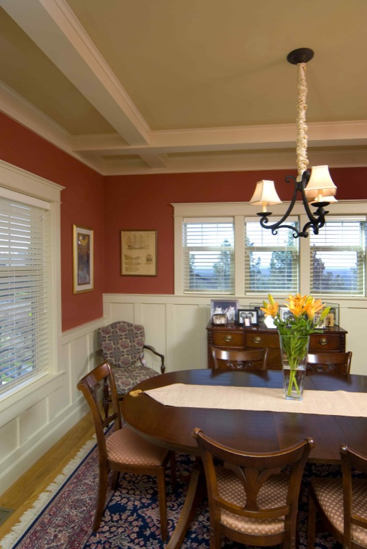 Craftsman Style Home Decorating Ideas: Bungalow-Dining-Room