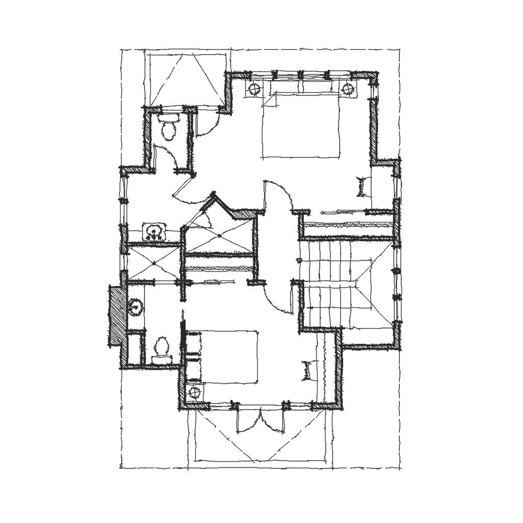 Fox Tail Second Floor - Floor Plan