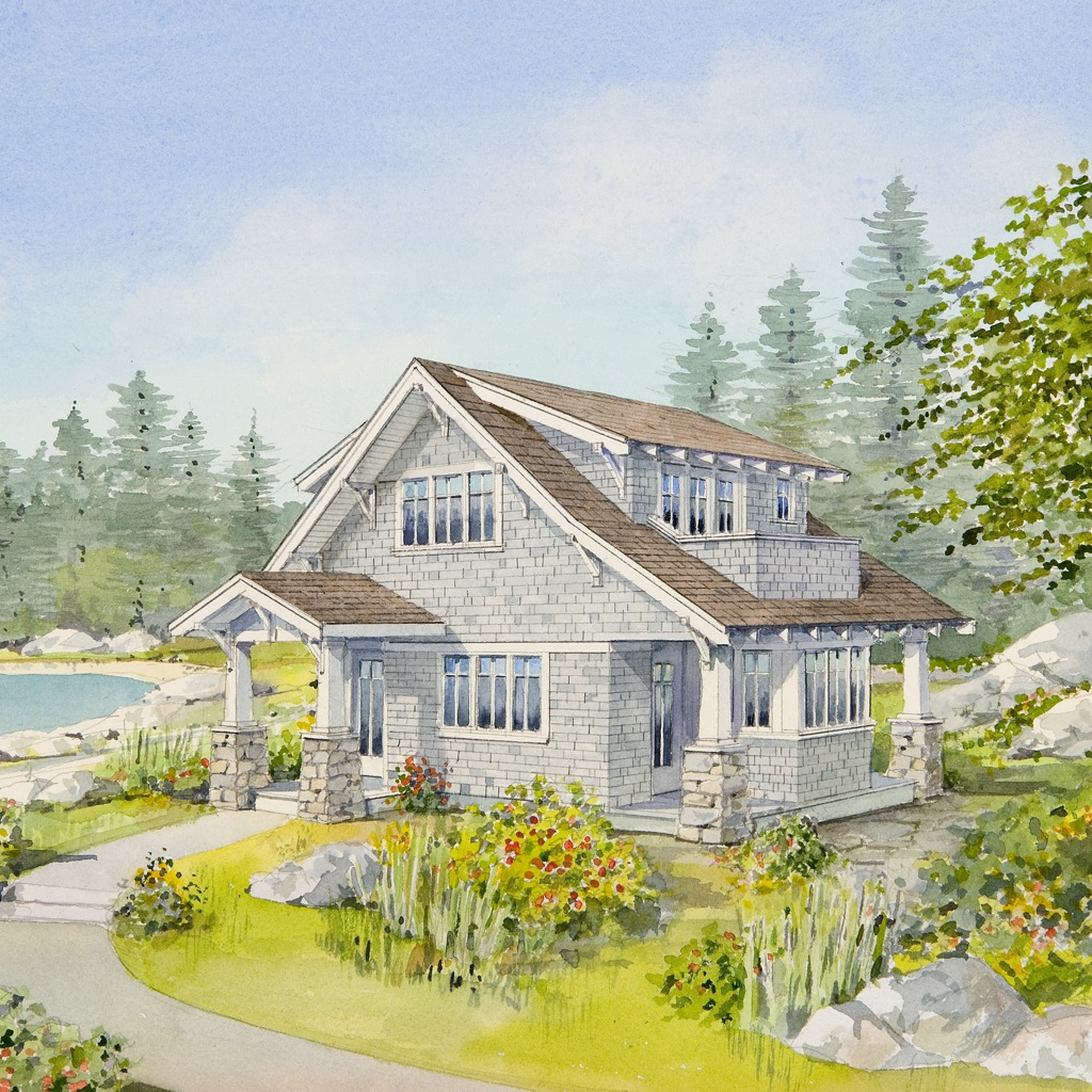 New Homes Bungalows: Small House Plans And Daring To Downsize