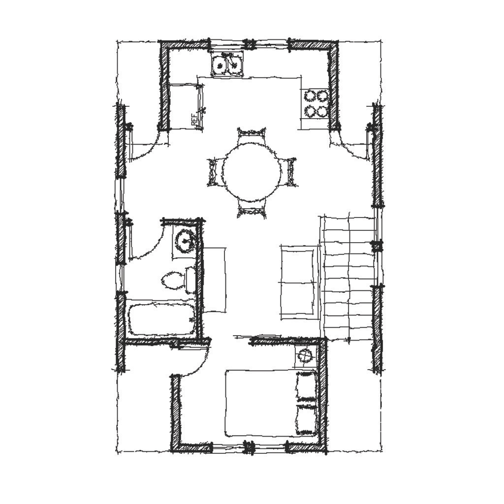 Sweet Pea Second Floor - Floor Plan