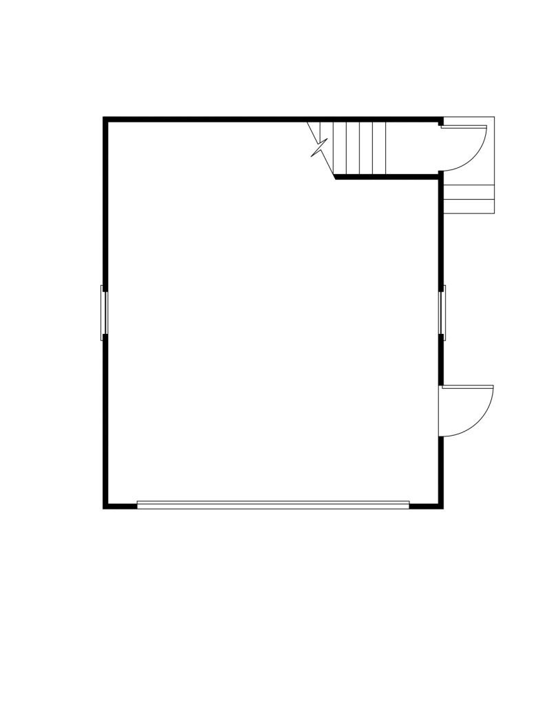 Morris First Floor - Floor Plan