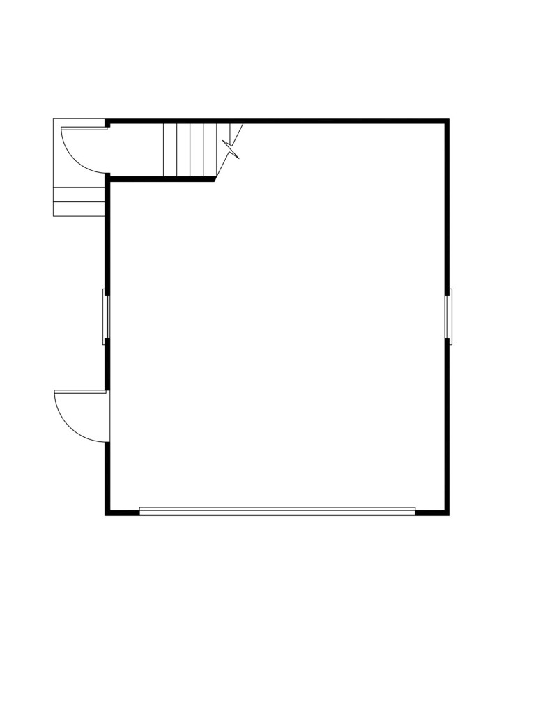 Morris First Floor - Floor Plan Reverse