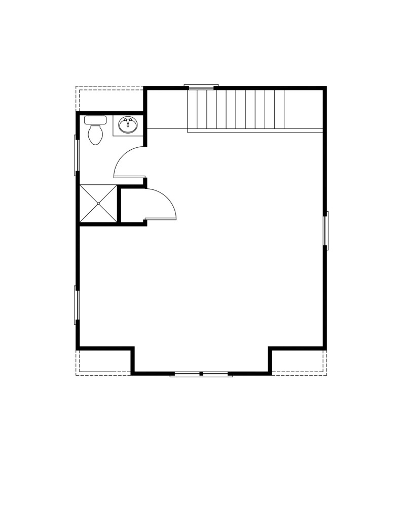 Morris Second Floor - Floor Plan