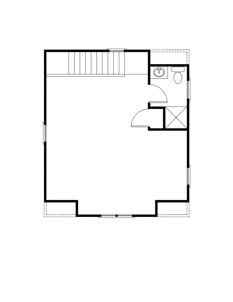 Morris Second Floor - Floor Plan Reverse