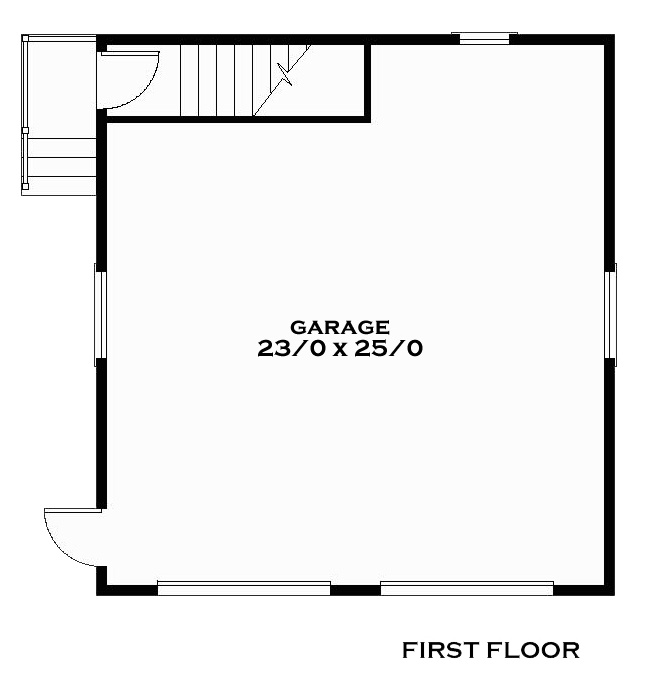 Tucker First Floor Plan Reverse