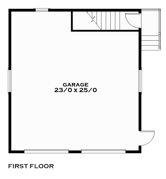 Tucker First Floor Plan