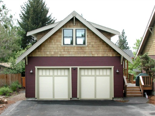 Garage plans bungalow company for Small house over garage plans