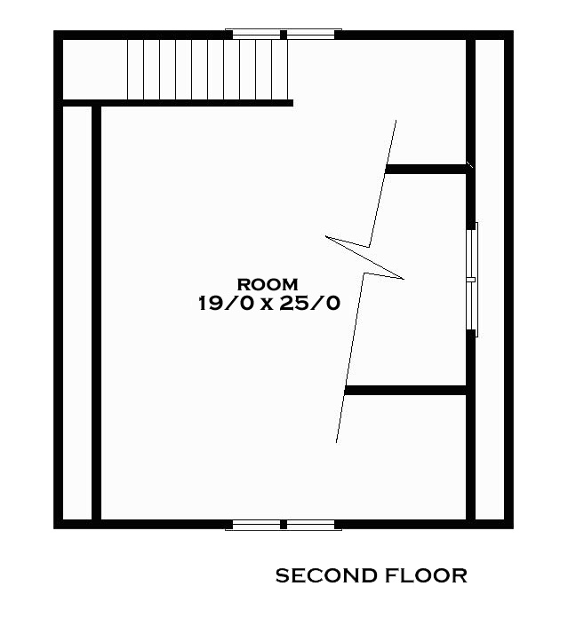 Tucker Second Floor Plan Reverse