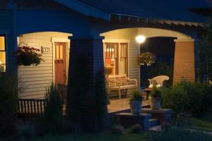 The Fir Exterior - Covered Porch