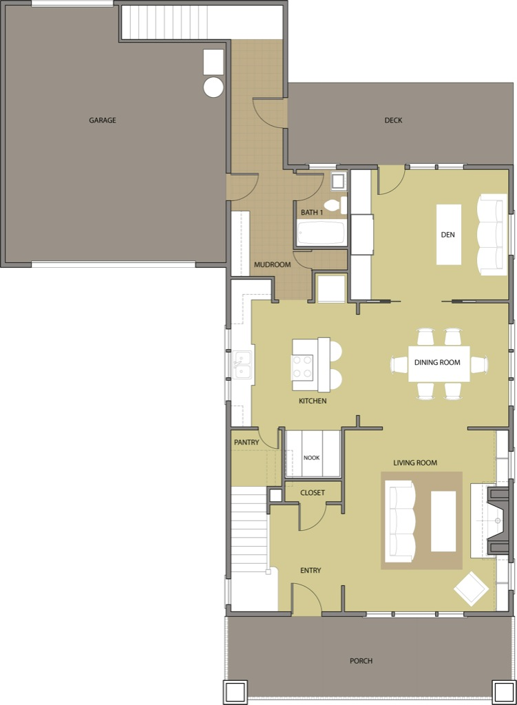 The Fir First Floor Plan