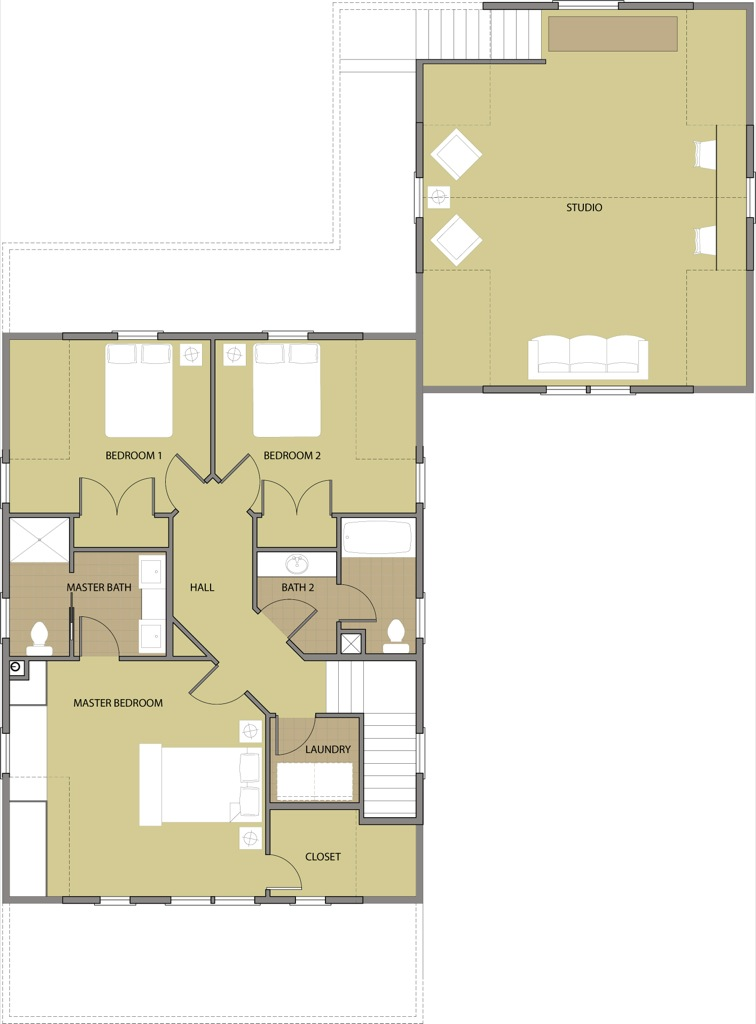 The Fir Second Floor Plan Reverse