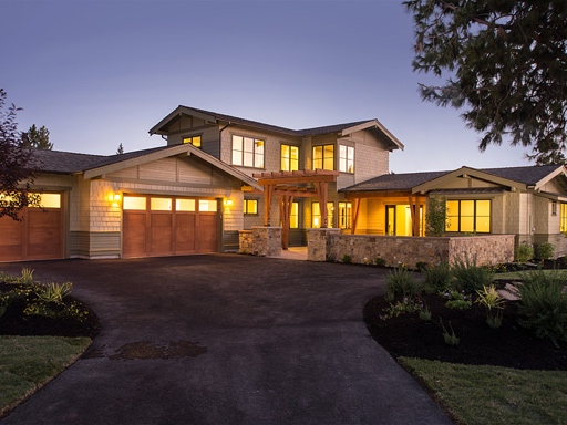 Transitional style home - The Tahoe