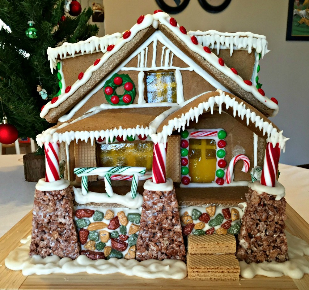Garage Plans With Office >> The Manzanita as a Gingerbread House! - Bungalow Company