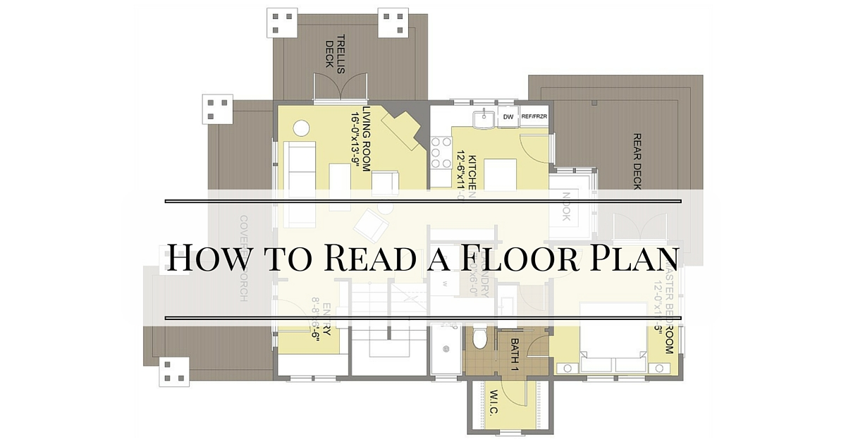 How to read floor plans home design for How to read floor plans