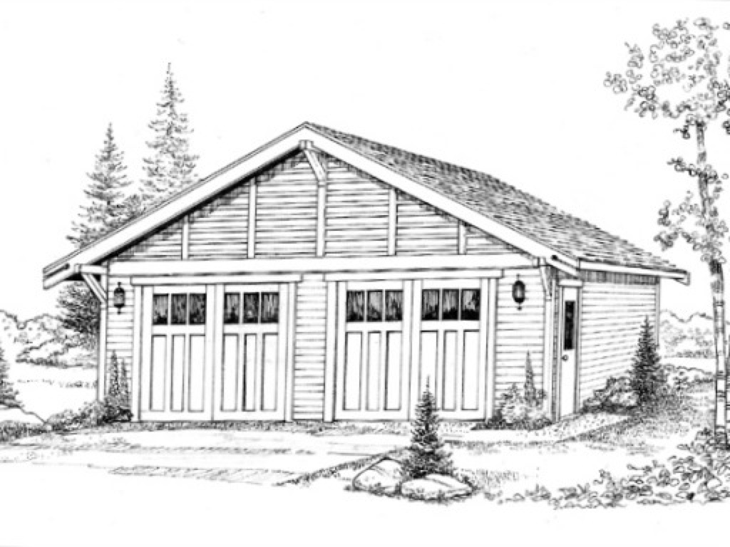 Mercury Detached Garage Plan