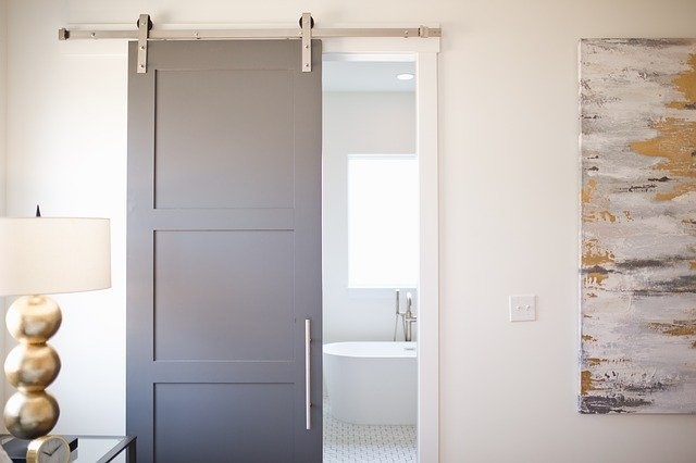 Modern farmhouse barn door