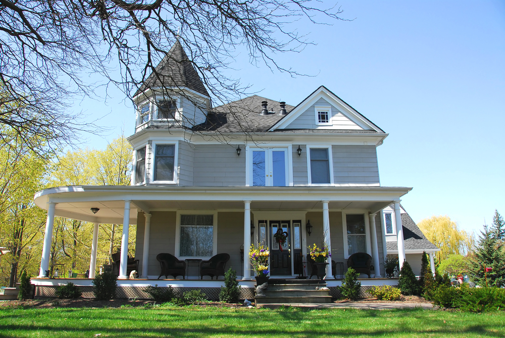Exterior Photo of a Victorian style house
